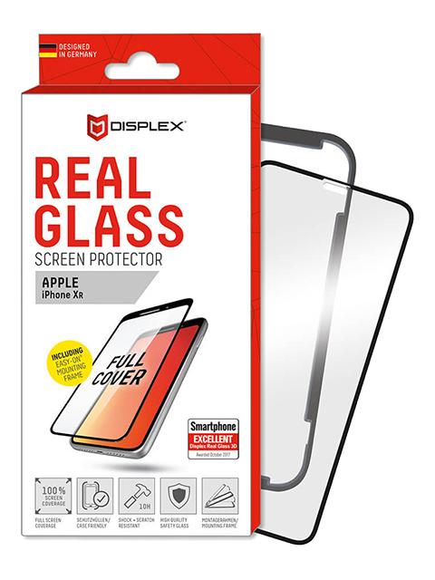 Displex Aizsargstikls iPhone 11/XR Black