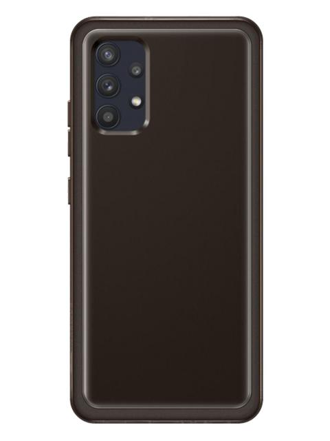 Samsung Samsung Galaxy A32 Soft Clear vāciņš, melns