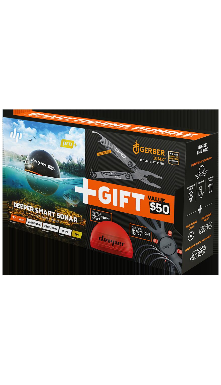 Deeper Smart Sonar Pro+ с подарком
