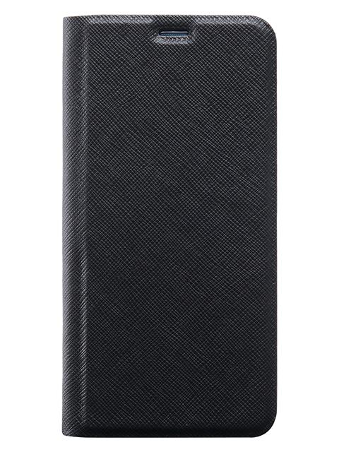 BigBen Galaxy A12 atverams grāmatveida vāciņš, melns