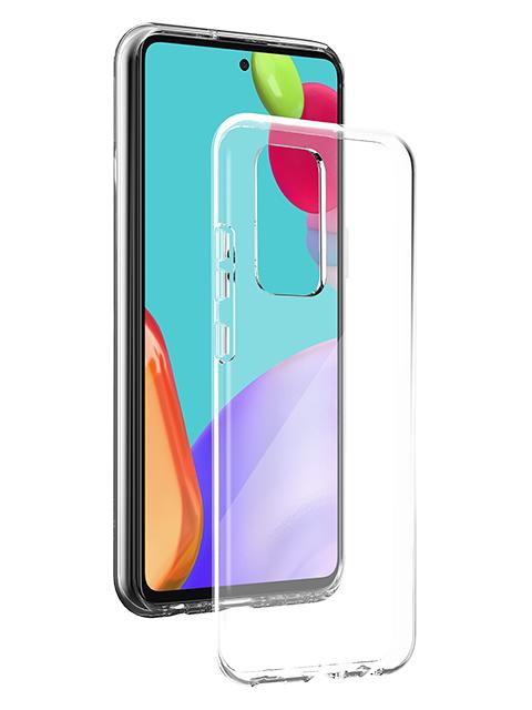 BigBen Galaxy A52 silikona vāciņš, caurspīdīgs