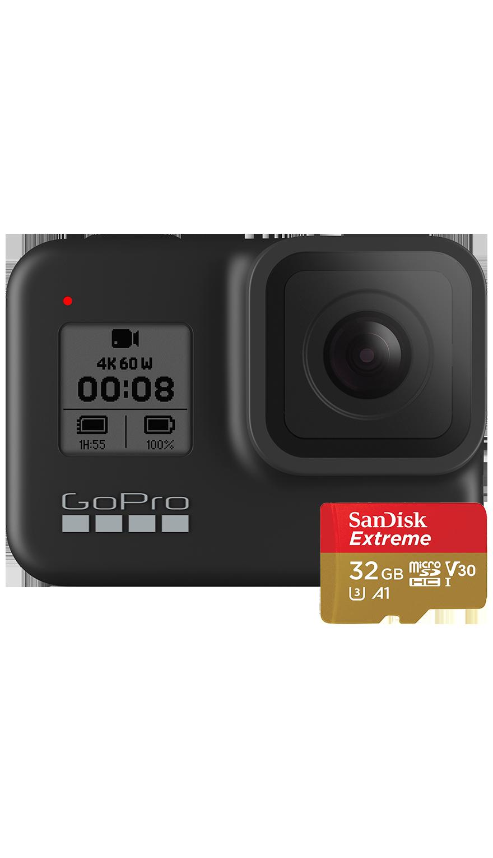 GoPro HERO8 Black + microSD
