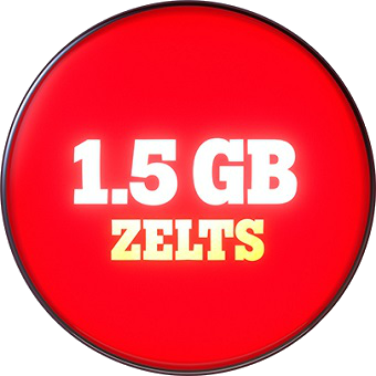 Zelts 1.5 GB