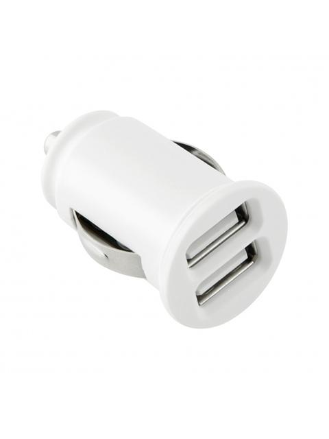 TOTI Auto tīkla lādētājs Dual USB ar type-c vadu 1m