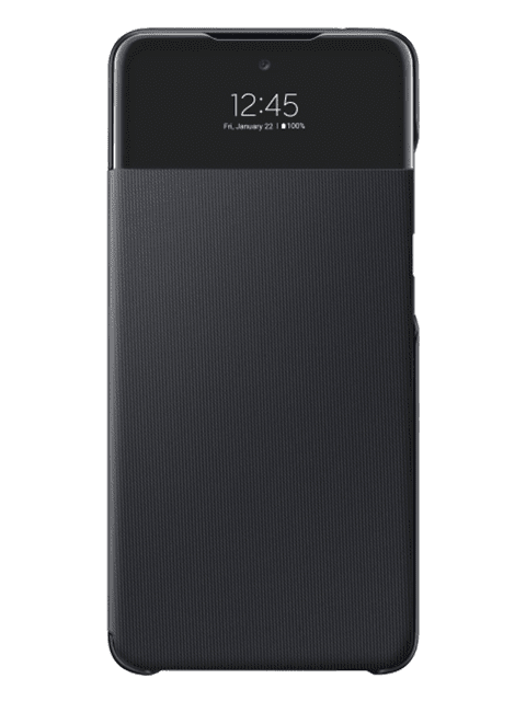 Samsung Samsung Galaxy A52 Smart S View vāciņš, melns