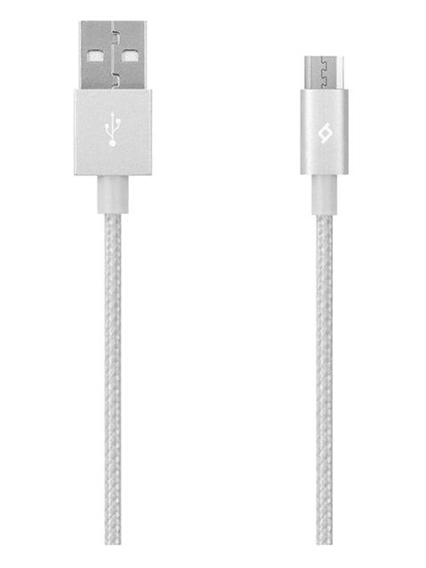 ttec Lādētāja vads AlumiCable Micro USB