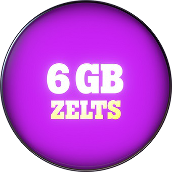 Zelts 6 GB