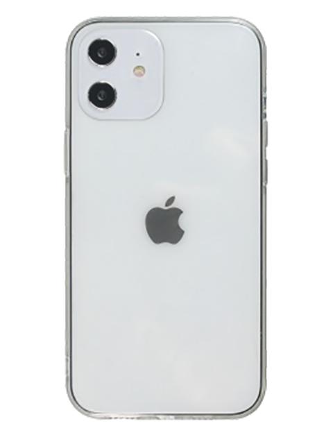 iPhone 12 mini silikona vāciņš, caurspīdīgs