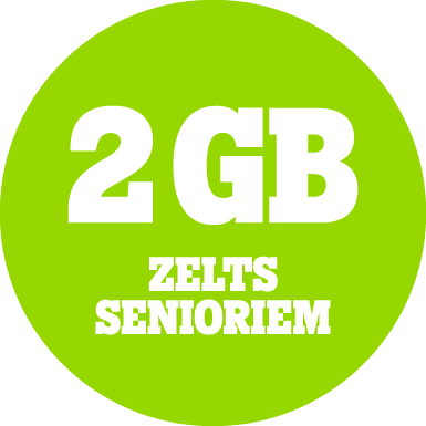 Zelts 2 GB senioriem