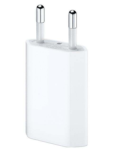 Apple USB strāvas adapteris 5W, balts